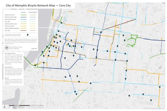 Facilities Map_Core City_2018_24x36